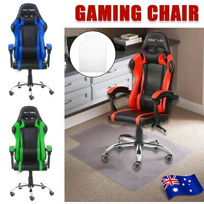 AU85.59 • Buy Gaming Office Chair Executive Tilt Computer Chairs Seating Racing Recliner AU