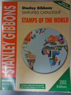 £26.99 • Buy Simplified Catalogue Of Stamps Of The World: Co... By Gibbons, Stanley Paperback