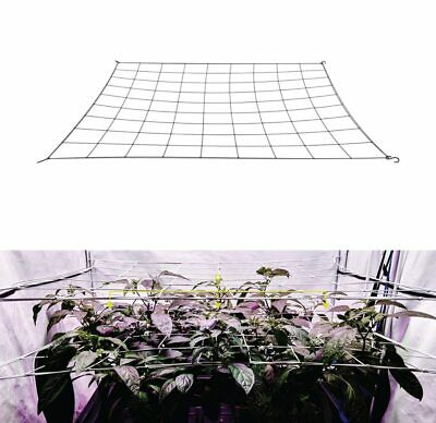 AU20.98 • Buy Mesh Trellis Netting Plant Support Elastic  Net With Hooks For Indoor Grow Tents