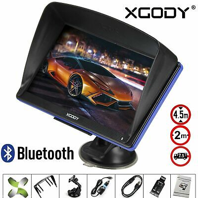 AU93.89 • Buy 7'' Truck Car GPS Navigator 8GB Navigation System Sat Nav W/ Bluetooth Free Maps