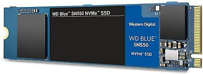 WD Blue SN550 1TB High-Performance M.2 Pcie NVMe SSD,unopened • 93.35£
