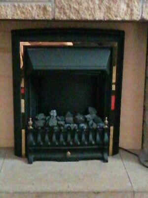 Viscount Electric Fire Heater  1.8 To 2 KW Used Working Order Bargain  • 29.99£
