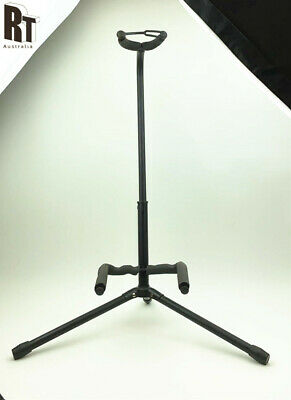 AU16.49 • Buy Folding Tripod Guitar Stand Electric Acoustic Standing Rack Holder Display