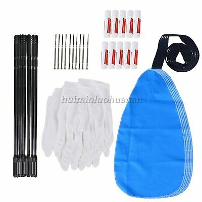 AU57.43 • Buy 100 Sets Of Pure Cotton Flute Cleaning Kit 5-piece Set Cleaning Tool For Flute