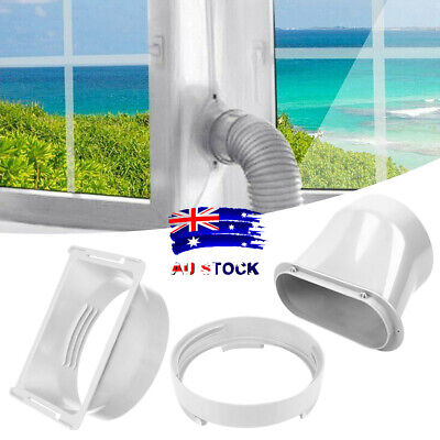 AU18.79 • Buy Exhaust Hose Tube Interface Connector Portable Air Conditioner Window Kit AL