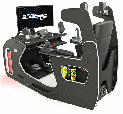 £649.99 • Buy Dunster House EdgeRig Sim Rig Gaming Chair Compatible With PC, PS4 And XBox