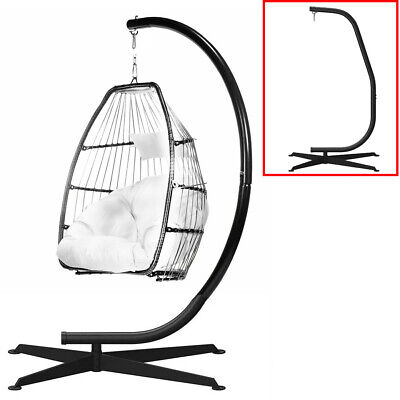 Heavy Steel Hammock Swing Chair Stand Extra High Solid Egg Hanging Chair Stand • 67£