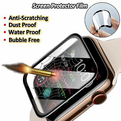 $ CDN6.99 • Buy 3D Tempered Glass Screen Protector For Apple Watch Series 6/5/4/3  38/40/42/44mm