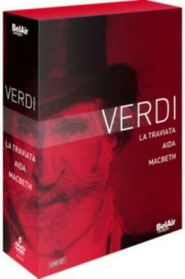 La Traviata/Aida/MacBeth =Region 2 DVD= • 23.99£