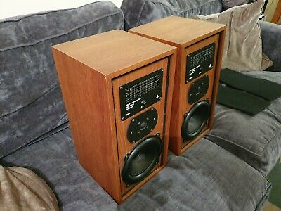 B And W Bowers And Wilkins Dm5 Vintage Speakers (youtube Demo) • 165£