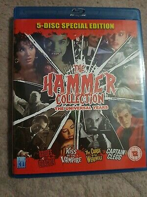 THE HAMMER COLLECTION THE UNIVERSAL YEARS Blu-ray UK RELEASE VERY RARE • 34.99£