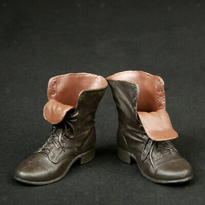 $11.87 • Buy 1/6 Scale Boots Shoes For 12 Inch Hot Toys, Sideshow, Enterbay Male Figures Doll