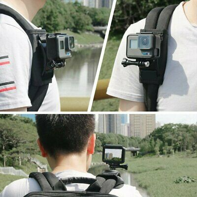 AU13.96 • Buy Sport Camera Backpack Clip For Gopro Hero7 6 5 Black Action Camera Accessories
