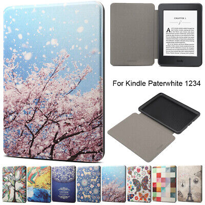 For 6.0  Amazon Kindle Paperwhite 1234 5/6/7th/10th Gen Smart Leather Case Cover • 6.39£