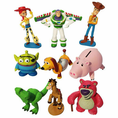 £9.89 • Buy Toy Story Set Of 9 Figures Toy / Cake Toppers NEW GIFT KIDS