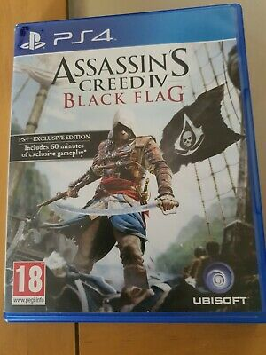 Assassin's Creed IV: Black Flag (PlayStation 4, 2013) Exclusive Edition  • 4£