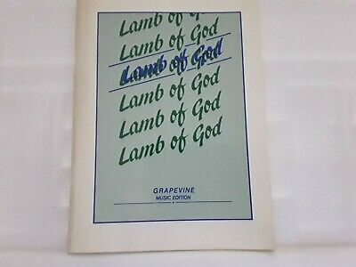Lamb Of God Music Sheets Compiled By Chris A Bowater Good Condition Freepost  • 3.99£