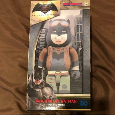 $399 • Buy MEDICOM TOY BE@RBRICK Bearbrick Nightmare Batman Limited Ver 400 % NEW Rare