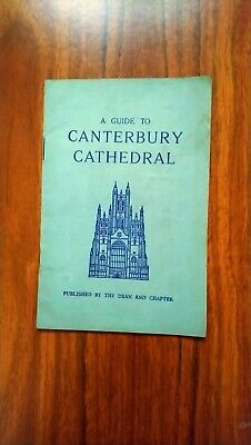 Canterbury Cathedral Guide. 33rd Impression. VGC. • 1£
