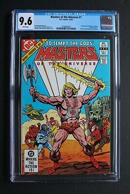 $109 • Buy Masters Of The Universe #1 DC Comics 1982 HE-MAN Sony Movie Reboot CGC NM+ 9.6