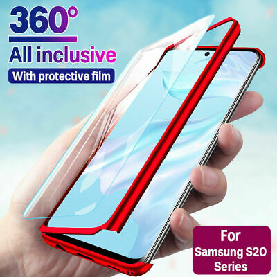 $ CDN4.71 • Buy 360° Full Cover Case + Film For Samsung Galaxy S20 Ultra S10 Note 10 Plus S9 S8