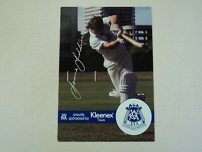 AU7.99 • Buy 1989-90 Vca Kleenex Tissues Jamie Siddons Victorian Sheffield Shield Card