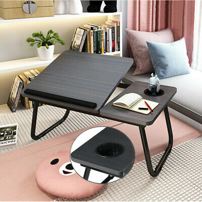 Foldable Laptop Bed Table Stand Computer Desk Sofa Lap Tray Adjustable Portable • 19.99£