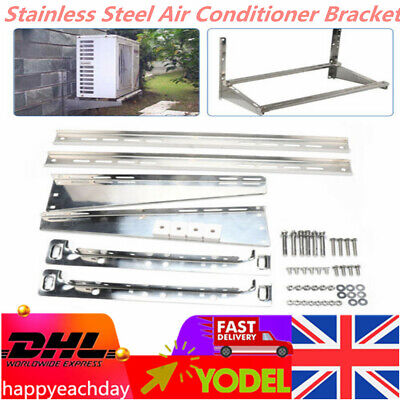 £42.02 • Buy Stainless Steel Air Conditioner Bracket Wall Mount Conditioner Support Rack