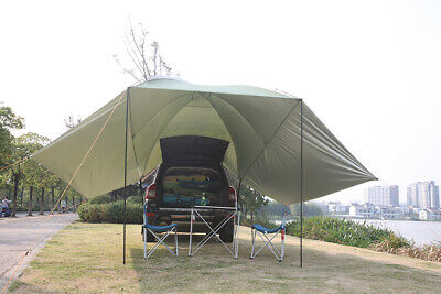AU129 • Buy Outdoor Camping Canopy Shade Tent Car Gazebo Tent Large Car Rear Tent Of Shelter
