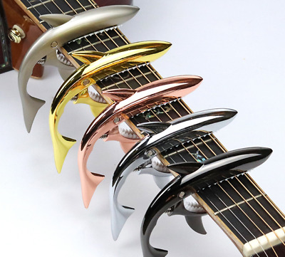 $ CDN9.59 • Buy 5-Color Guitar Capo Guitar Tuner Clip Quick Change Clamp Key Tone Adjustment.