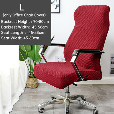 AU20.25 • Buy Office Chair Cover Modern Computer Seat Home Knitted Jacquard Washable Stretch