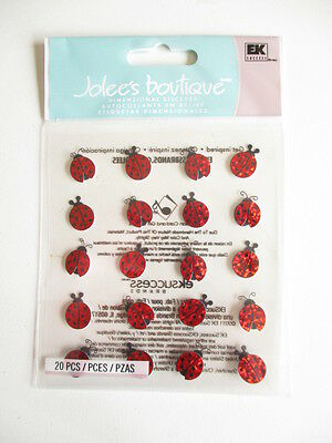 Jolee's Boutique 3D Stickers - Lady Bug Repeats - Ladybird - Ladybugs • 1.29£
