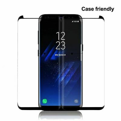 $ CDN4.99 • Buy Tempered Glass For Samsung S8 Plus S8 Note 8 Full Cover Curved Screen Protector