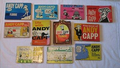 Andy Capp - 11 X Vintage & Classic Comic Strip Books - Used • 45£