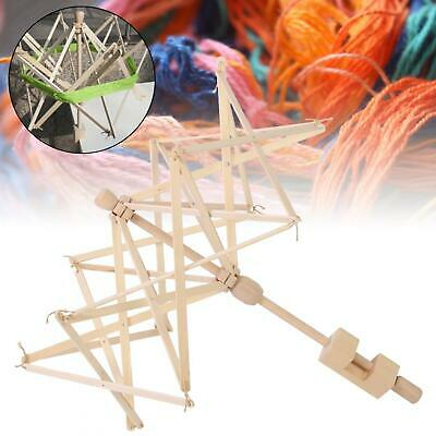 Knitting Umbrella Swift Yarn Wood Winder Holders Kint Ball Tool Weaving Part • 61.44£