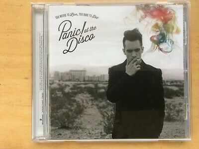 Panic At The Disco  - Too Weird To Live Too Rare To Die 2013 CD • 1.30£