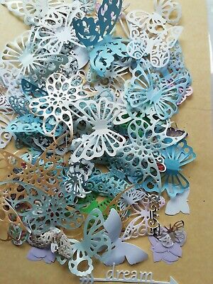 Craftroom Clearout - 75 X  Die Cut  Butterflies, Toppers/Embellishments  (H1) • 0.99£