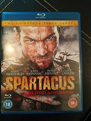 Spartacus Blood And Sand Blu-ray 2011 3 Disc Set Andy Whitfield • 4.50£