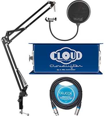 $229.68 • Buy Cloud Microphones CL-1 Cloudlifter 1 Channel Microphone Activator For Dynamic,
