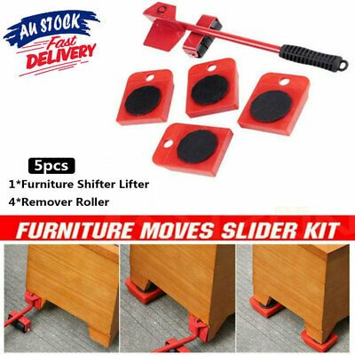 AU16.99 • Buy Furniture Lifter Heavy Roller Move Tool Set Moving Wheel Mover Sliders Kit