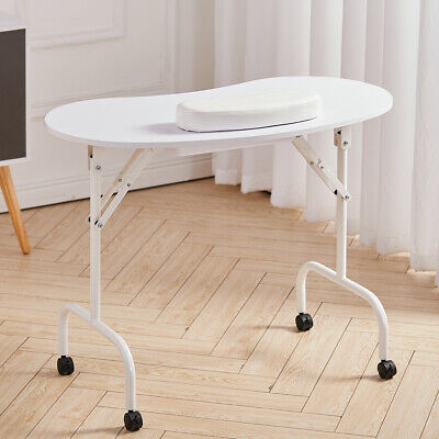 £65.95 • Buy Collapsible Manicure Table Nail Care SPA Salon Nails Beauty Portable Desk Wheely