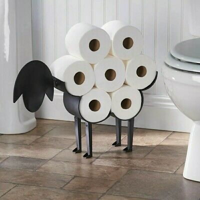 AU79.99 • Buy New Decorative Toilet Paper Holder- HQ-Standing Or Wall Mount-Sheep Design🧻🧻🧻