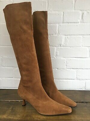 "Stuart Weitzman Knee High Boot, 2.5"" Heel, Stretch Calf, UK 6.5 • 22.20£"