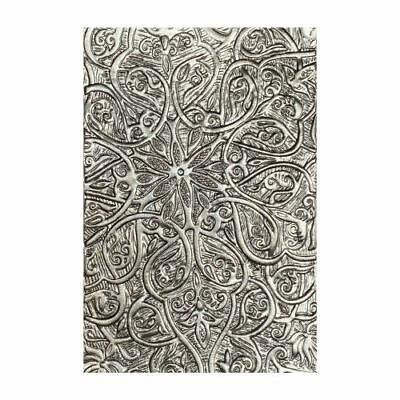 £7 • Buy Sizzix 3-D Textures Fades Embossing Folder- Engraved By Tim Holtz. *NEW*