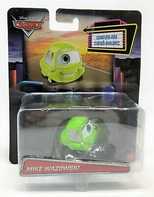 Disney Cars Mike Monsters Inc Drive-In Character Mini Diecast Vehicle Car Toy • 10.99£