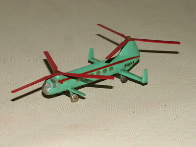 DINKY VINTAGE DIECAST TOYS 1:43 No.715 BRISTOL 173 HELICOPTER G-AUXR  • 5£