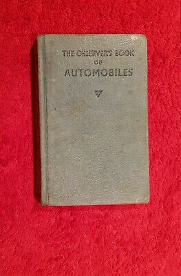 Observer's Book Of Automobiles: 1966 - Acceptable. • 3£