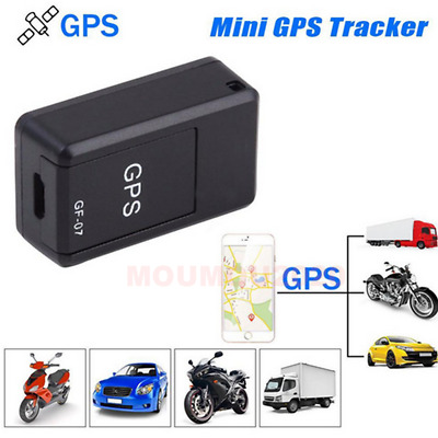 AU13.73 • Buy GF07 Magnetic Mini Car Vehicle Tracker GPS Real Time Tracking Locator Device New