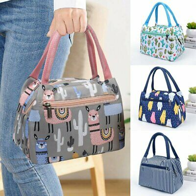 AU12.98 • Buy Cartoon Printed Lunch Bag Insulated Thermal Cool Bags Picnic Food Box Superior