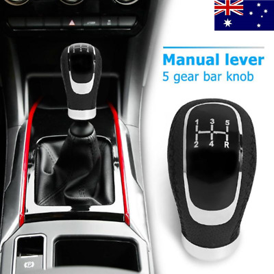 AU20.96 • Buy Universal Manual 5/6 Speed Shift Gear Knob Stick Shifter Car Lever PU Leather AU